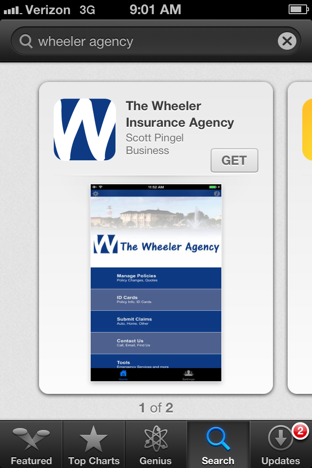 Wheeler Agency Mobile App